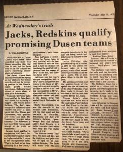 1979 Van Dusen Trials, Ogdensburg, NY Track Meet (Image © 2020 F. P. Dorchak)