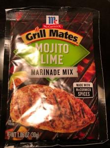 """""""Mojito Lime"""" Grill Mates Marinade Mix. (©2020 F. P. Dorchak)"""