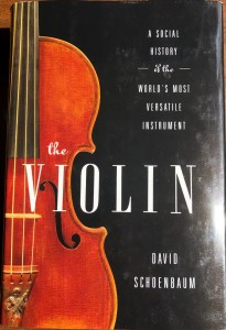 The Violin, By David Schoenbaum (Image © 2020 F. P. Dorchak)