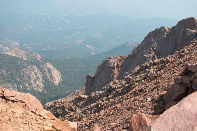 Pikes Peak Summit View (© 2020 F. P. Dorchak)