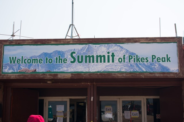 Summit House, Pikes Peak. 14,115 Feet To You And Me. (© 2020 F. P. Dorchak)
