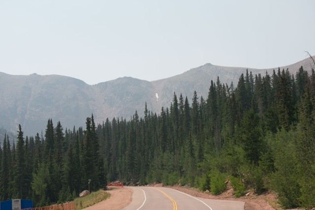 Devil's Playground Ski Area (Where Small Patch of Snow Is In Distance). (© 2020 F. P. Dorchak)