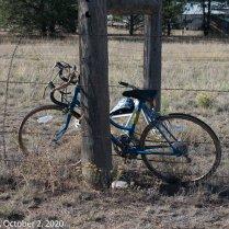 "Lake George ""Bike Fence"" (© F. P. Dorchak 2020)"