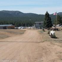 "Lake George ""Bike Fence,"" Travel Port Campground Entrance (© F. P. Dorchak 2020)"