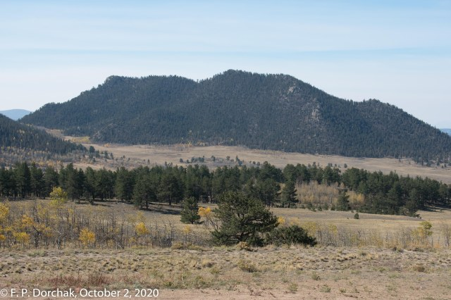 Wilkerson Pass, Colorado. (© F. P. Dorchak 2020)