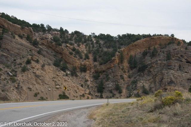 Highway 50 Alongside The Arkansas River, Colorado (© F. P. Dorchak 2020)