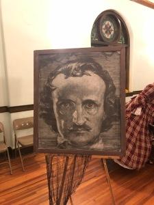 Edgar Allan Poe (Image © F. P. Dorchak, 2021)